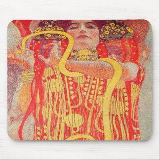 Gustav Klimt's Hygieia Mousepad