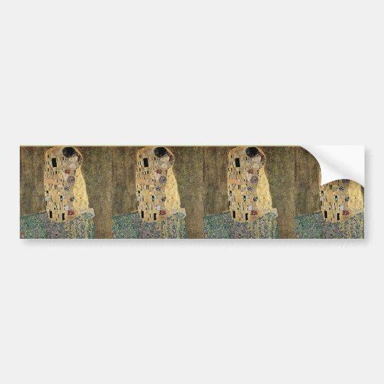Gustav Klimt's The Kiss (circa 1908) Bumper Sticker