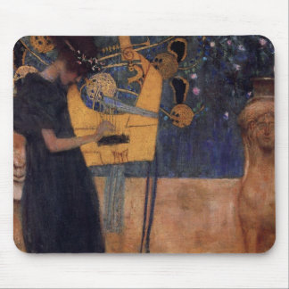 Gustav Kllimt Harp Music Mouse Pad