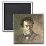 Gustav Mahler 2 Inch Square Magnet