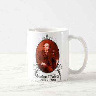 Gustav Mahler Classic White Coffee Mug