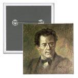Gustav Mahler Pin Cuadrada 5 Cm