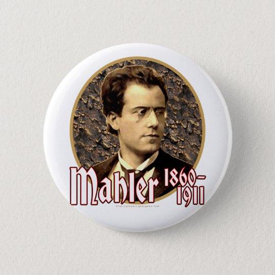 Gustav Mahler Pinback Button