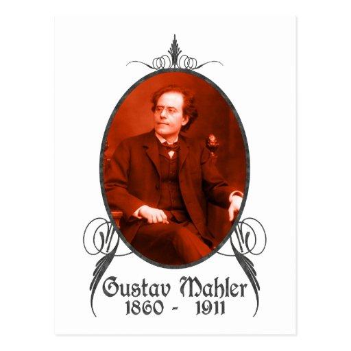 Gustav Mahler Post Card