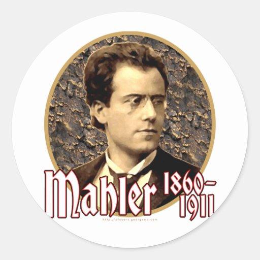 Gustav Mahler Stickers