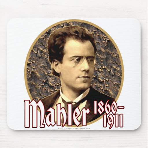 Gustav Mahler Tapetes De Raton