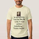 Gustav Mahler Tee Shirt