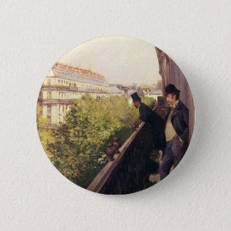 Gustave Caillebotte:A Balcony, Boulevard Haussmann Button