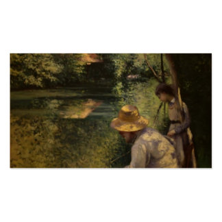 Gustave Caillebotte- Angling Double-Sided Standard Business Cards (Pack Of 100)