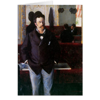 Gustave Caillebotte- At the Cafe, Rouen Cards