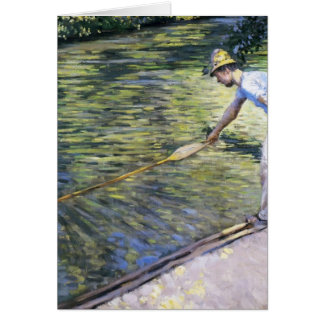 Gustave Caillebotte- Boating on the Yerres Greeting Card