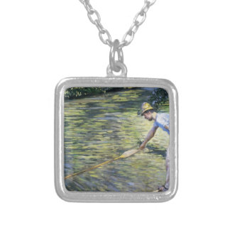 Gustave Caillebotte- Boating on the Yerres Personalized Necklace