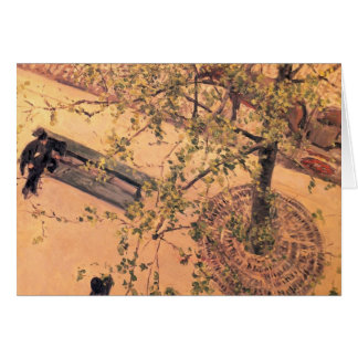 Gustave Caillebotte- Boulevard Viewed from Above Cards