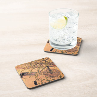Gustave Caillebotte- Boulevard Viewed from Above Beverage Coasters