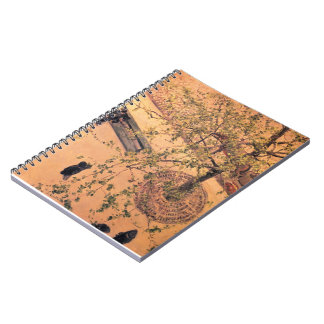 Gustave Caillebotte- Boulevard Viewed from Above Spiral Notebooks