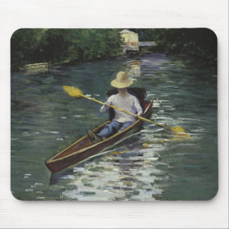 Gustave Caillebotte  - Canoe on the Yerres Mouse Pad