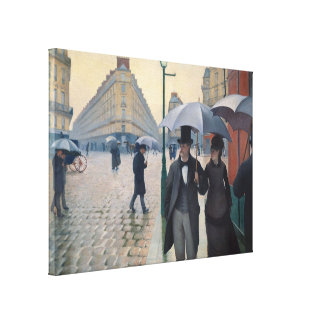 Gustave Caillebotte Gallery Wrap Canvas