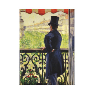 Gustave Caillebotte Gallery Wrapped Canvas
