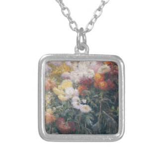 Gustave Caillebotte- Clump of Chrysanthemum Custom Jewelry