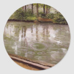 Gustave Caillebotte Etiqueta Redonda