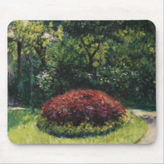Gustave Caillebotte - Flower, Garden Mouse Pad