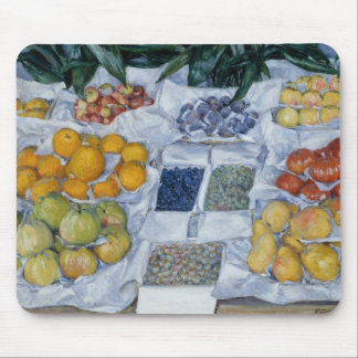 Gustave Caillebotte - Fruit Displayed on a Stand Mouse Pad