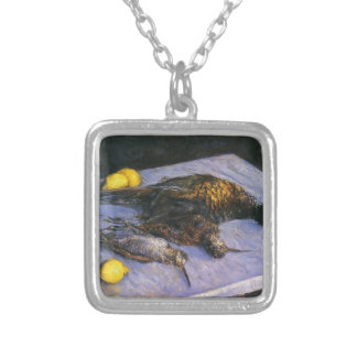 Gustave Caillebotte- Game Birds And Lemons Pendant
