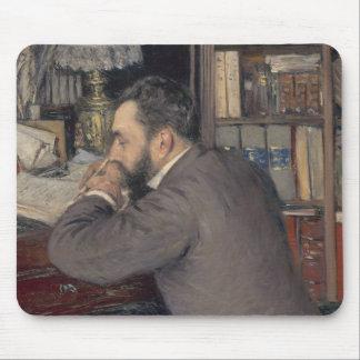 Gustave Caillebotte - Henri Cordier Mouse Pad