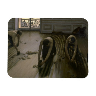 Gustave Caillebotte - las alisadoras del piso Imán De Vinilo