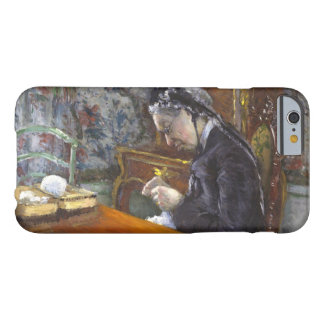 Gustave Caillebotte - Mademoiselle Boissiere Funda De iPhone 6 Barely There