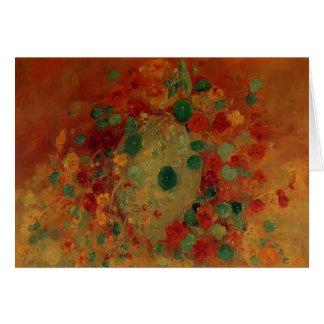 Gustave Caillebotte- Nasturtiums Cards