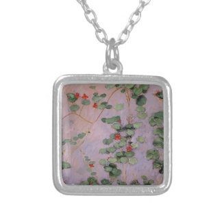 Gustave Caillebotte- Nasturtiums Personalized Necklace