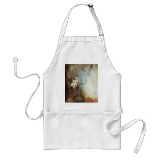 Gustave Caillebotte- Orchids Adult Apron