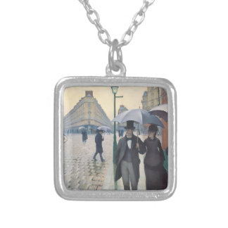 Gustave Caillebotte- Paris, a Rainy Day Custom Jewelry