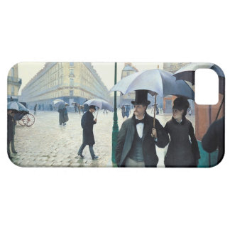 Gustave Caillebotte Paris Street Rainy Day iPhone SE/5/5s Case
