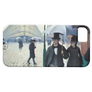 Gustave Caillebotte Paris Street Rainy Day iPhone SE/5/5s Case
