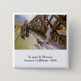 Gustave Caillebotte Pinback Button