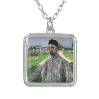 Gustave Caillebotte- Portrait of Eugene Lamy Custom Jewelry