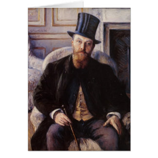 Gustave Caillebotte- Portrait of Jules Dubois Cards