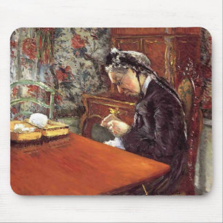 Gustave Caillebotte- Portrait of Mademoiselle Mousepad