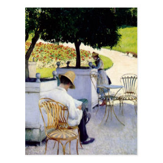 Gustave Caillebotte Post Card