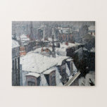Gustave Caillebotte - Rooftops in the Snow Jigsaw Puzzle
