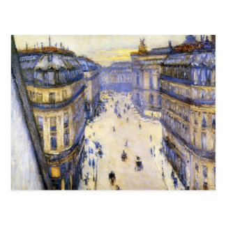 Gustave Caillebotte- Rue Halevy from Sixth Floor Postcard