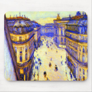 Gustave Caillebotte Rue Halevy Mouse Pad