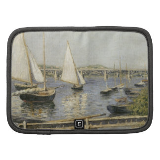 Gustave Caillebotte - Sailing Boats at Argenteuil Folio Planners