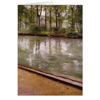 Gustave Caillebotte Tarjeta De Felicitación