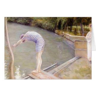 Gustave Caillebotte- The Bather, or The Diver Cards