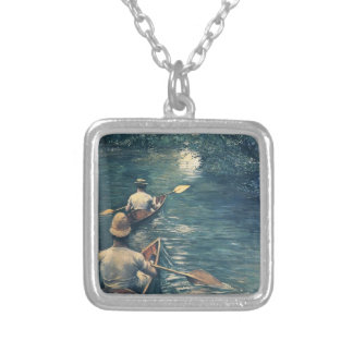 Gustave Caillebotte- The Canoes Custom Jewelry