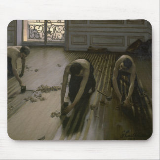 Gustave Caillebotte - The Floor Planers Mouse Pad