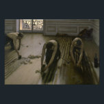 "Gustave Caillebotte - The Floor Planers Photo Print<br><div class=""desc"">Gustave Caillebotte - The Floor Planers - 1875 - oil painting</div>"